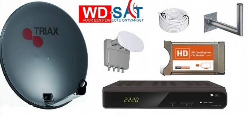HDTV Huis schotelset Astra 19.2 / 23.5 / 28.5