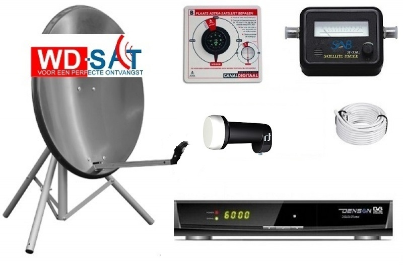 HD Recreatie schotelset Denson DS-1010 12/24/220 volt