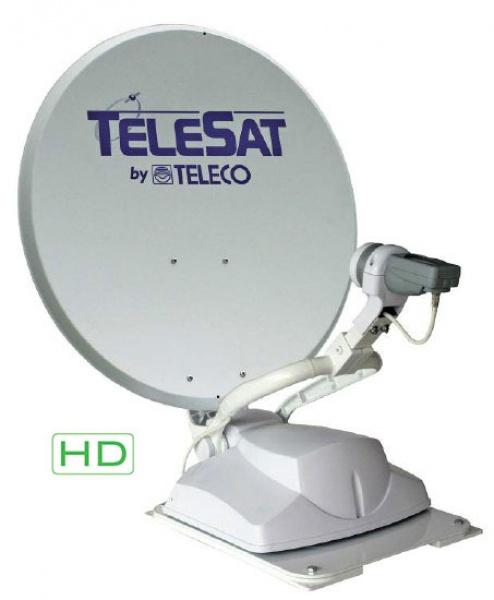 Teleco Telesat 65cm Zelfzoekend Satelliet systeem