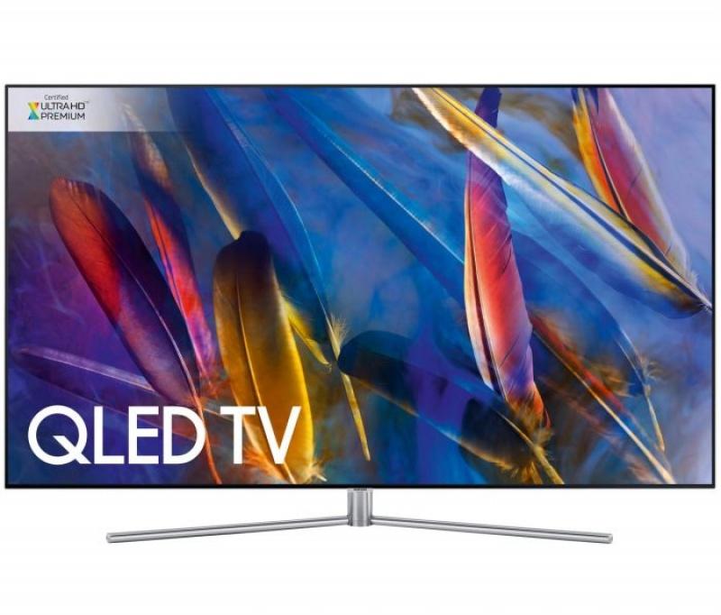 SAMSUNG QE55Q8C 135cm CURVED QLED TV met DVB-S/C/T