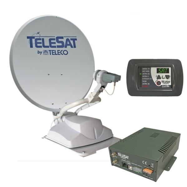 Teleco Telesat 85cm Zelfzoekend Satelliet systeem