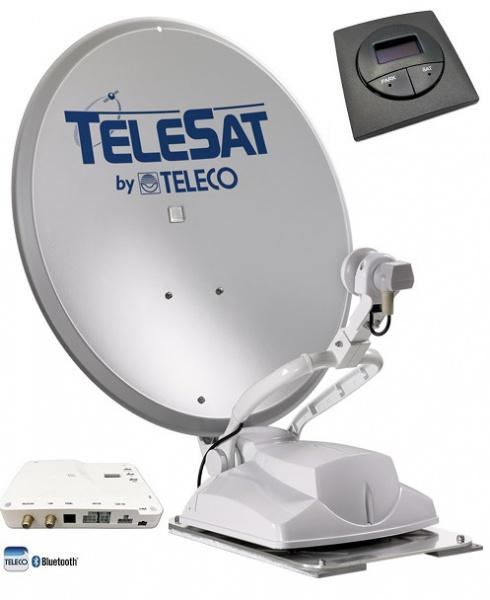 Teleco Telesat BT 85cm, Panel 16 SAT, Bluetooth Zelfzoekend Satelliet systeem
