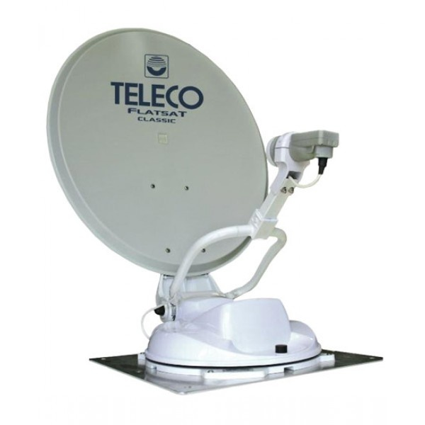 Teleco Flatsat Classic Easy 65 cm Zelfzoekend Satelliet systeem