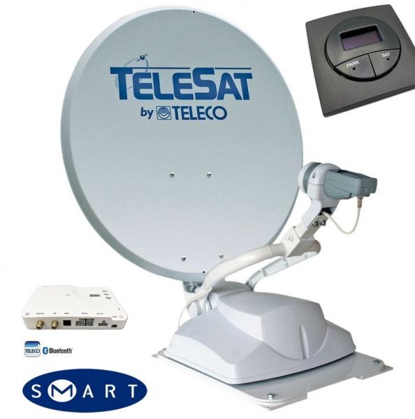 Teleco Telesat BT 65 SMART Diseqc, Panel 16 SAT, Bluetooth Zelfzoekend Satelliet systeem