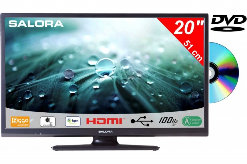 Salora 20LED9109 51cm DVB-C/T/S-S2 + DVD /CD/Ziggo HD TV