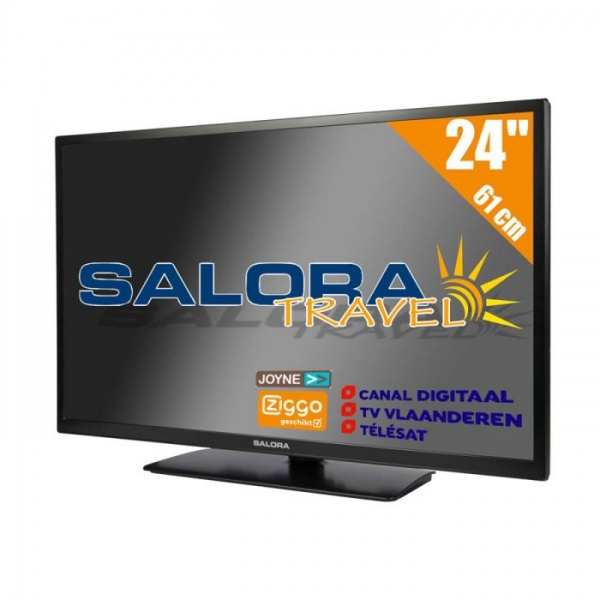 Salora 24LED9109 61cm DVB-S2/C/T2 12/230V CD/Ziggo HD TV