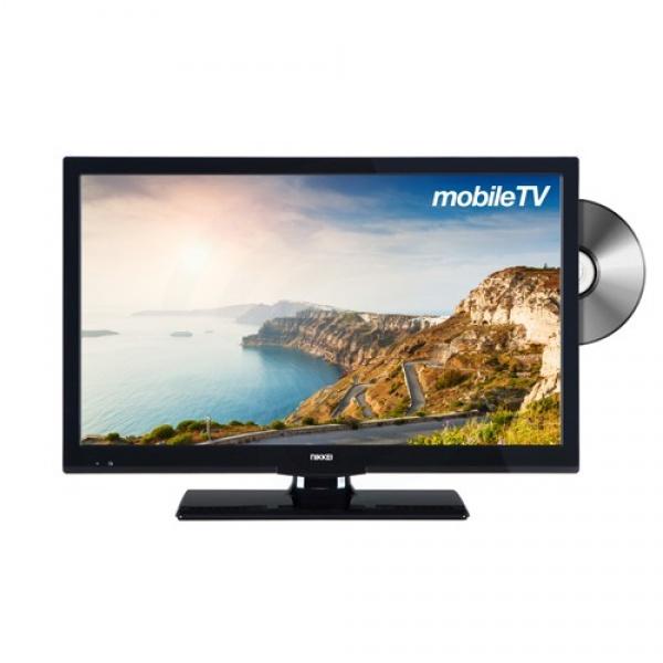 Nikkei NLD24MBK 61cm SMART DVB-T2/DVB-S2/HD DVD met HDTV Satelliettuner