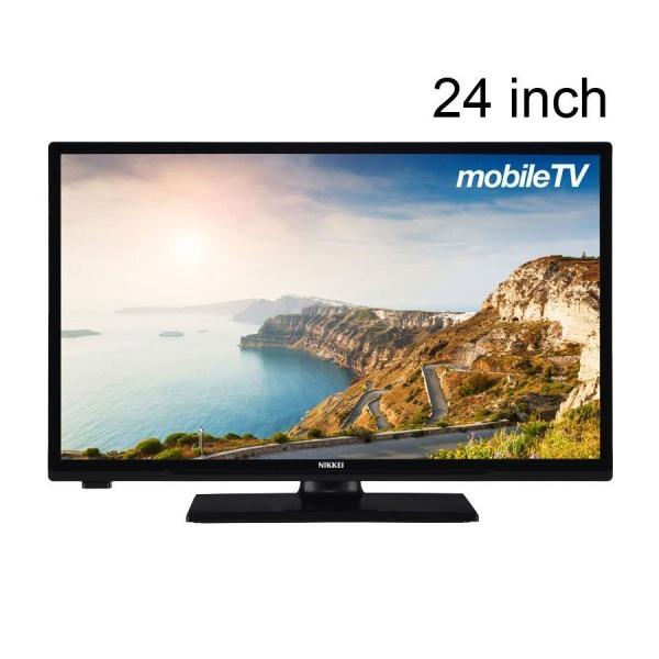 Nikkei NLD24MBK 61cm SMART DVB-T2/DVB-S2/HD met HDTV Satelliettuner