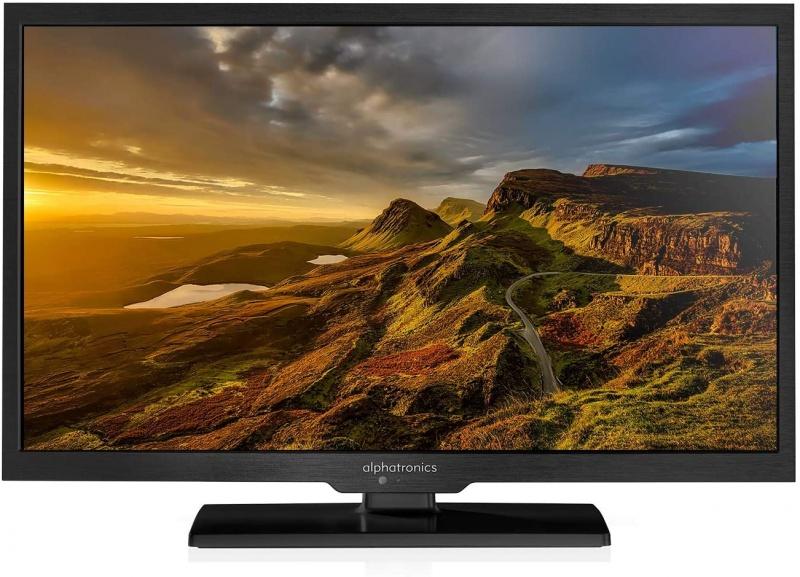 Alphatronics SL-22 DS 55cm LED TV 22 Inch met DVB-S/S2, DVB-T/T2 Tuner en DVD