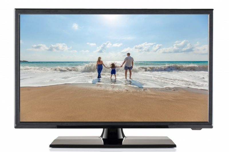 Travel Vision LED TV 6322 5cm LED TV 22 Inch met DVB-S/S2, DVB-T/T2 Tuner en DVD