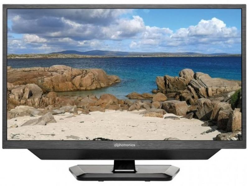 Alphatronics SLA-24 DSBAi + HDD SMART 61cm LED TV 24 Inch met DVB-S/S2 ,DVB-C ,DVB-T/T2 tuner en DVD