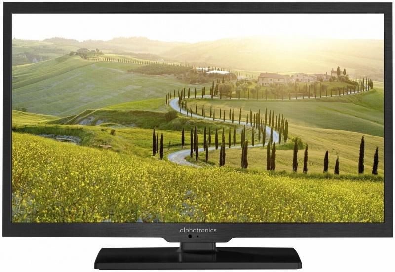 Alphatronics SL-24 DSBAi + SMART 48cm LED TV 19 Inch met DVB-S/S2, DVB-T/T2 Tuner en DVD