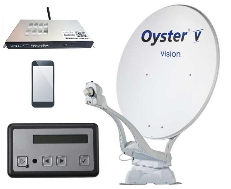 Oyster Vision V 85cm TWIN zelfzoekend