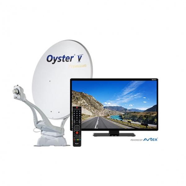 Oyster Vision V 85cm PREMIUM zelfzoekend 47cm TV
