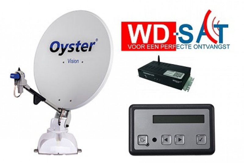Oyster Vision Ill 65cm TWIN zelfzoekend