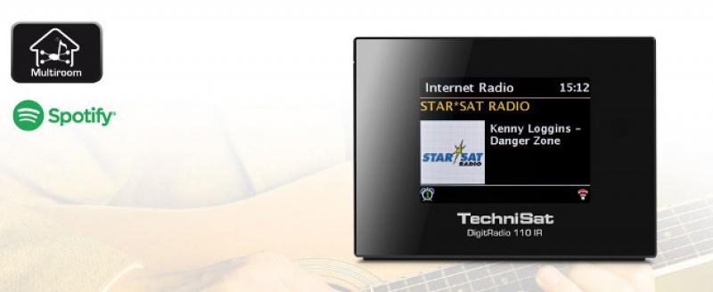 Technisat DigitRadio 110IR FM/DAB+ ontv + Internet