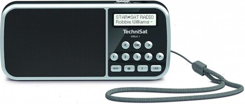 Technisat Viola-3 portable Dab+/FM +accu +lamp