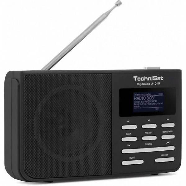 Technisat DigitRadio 210IR portable Dab+ / FM radio