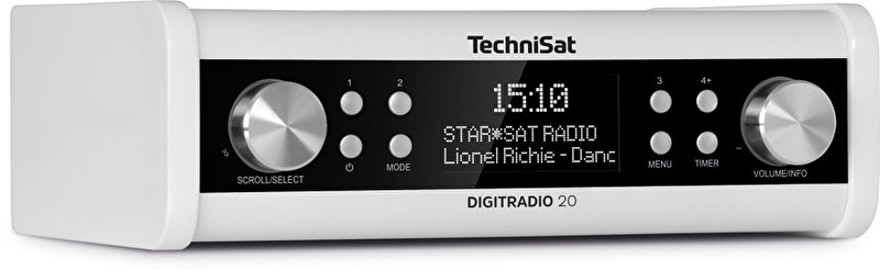 Technisat DigitRadio 20 Dab+ keukenradio wit