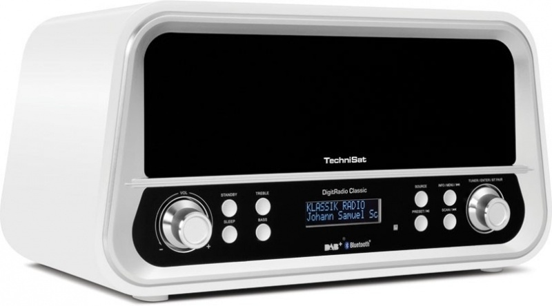 Technisat DigitRadio Classic wit DAB+ en FM radio