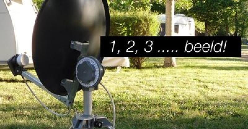 Easy Install statief + 42cm schotelsysteem