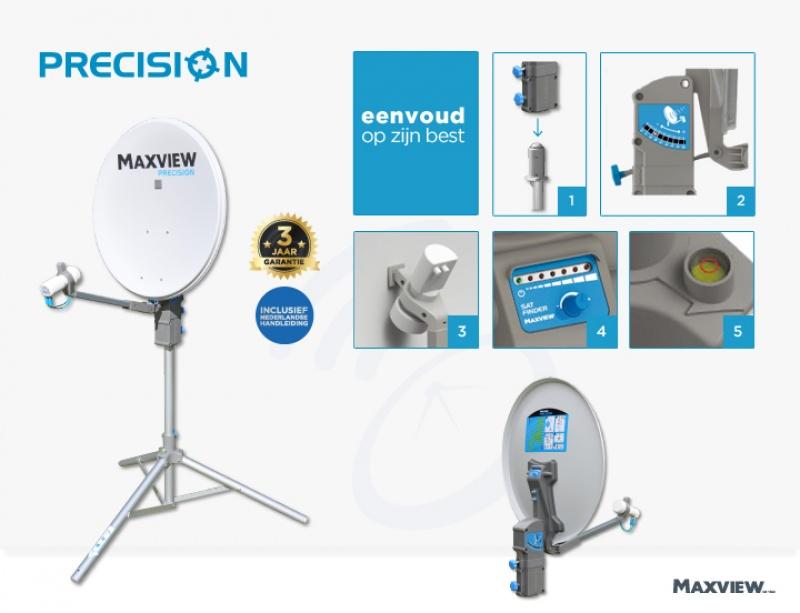 Maxview Precision 75cm schotelset single LNB