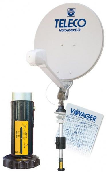 Teleco Voyager G3 65cm handbediend satelliet systeem