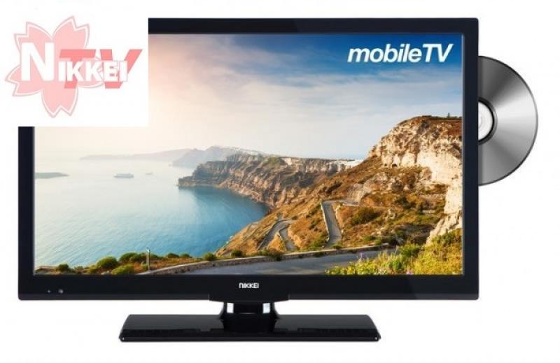 Nikkei NLD22MBK 55cm DVB-T/DVB-S2/H DVD met HDTV Satelliettuner