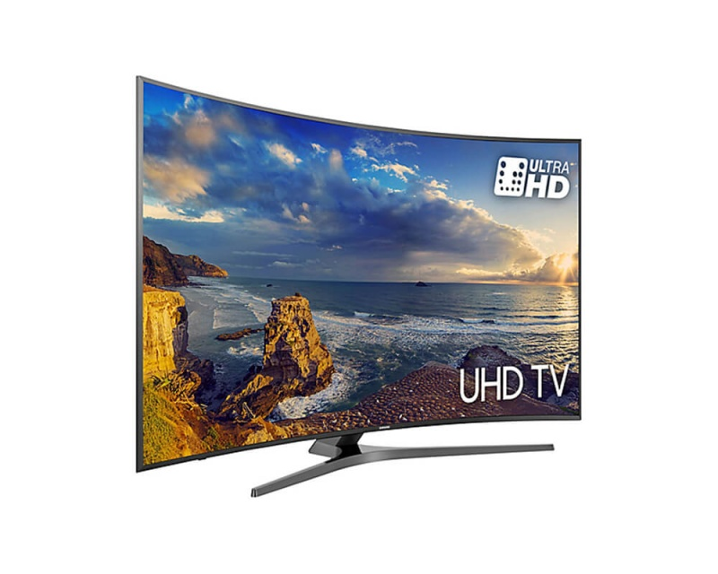 Samsung UE49MU6670ASXXN 125CM CURVED Ultra HD smart TV met DVB-C/T/S2