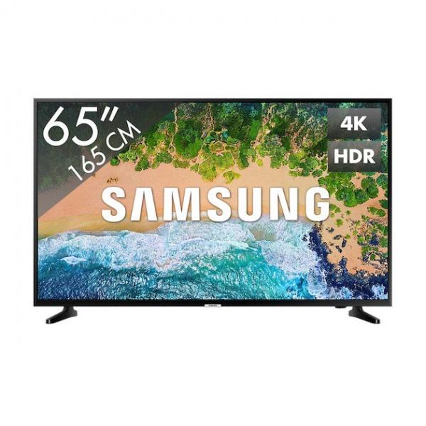 Samsung UE65NU7090 165CM ULTRA HD smart LED TV met DVB-C/T/S2