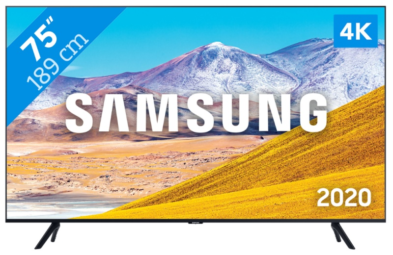 Samsung UE75TU8070S 191CM ULTRA HD smart LED TV met DVB-C/T/S2