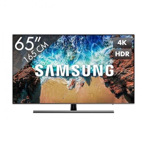 Samsung UE65NU8070 165CM ULTRA HD smart LED TV met DVB-C/T/S2