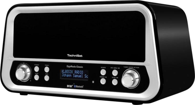 Technisat DigitRadio Classic zwart DAB+ en FM radio
