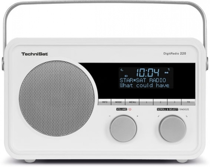 Technisat DigitRadio 220 portable+accu Dab+ / FM radio