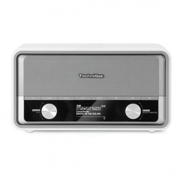 Technisat DigitRadio 520 wit Dab+ retro +multiroom