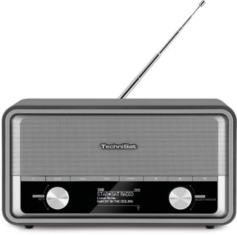 Technisat DigitRadio 520 antraciet Dab+ retro +multiroom