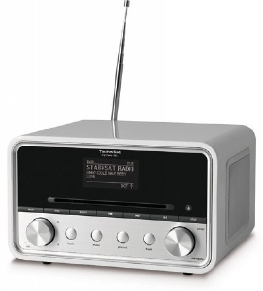 Technisat DigitRadio 580 wit Dab+ MP3/CD multiroom