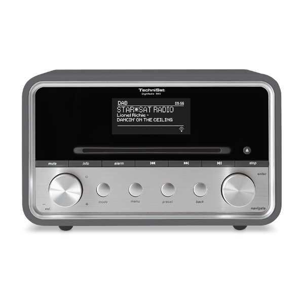 Technisat DigitRadio 580 antraciet Dab+ MP3/CD multiroom