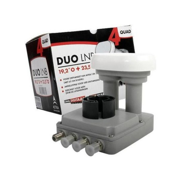 ASTRA Duo LNB quad 19.2+23.5