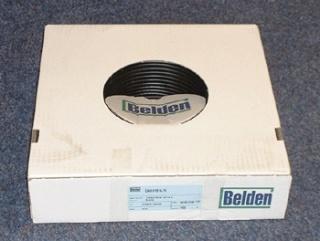 Belden H-125 satellietcoax zwart PE