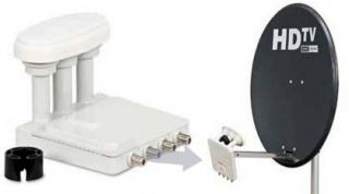 Triax TDS-64cm standaard + Canaldigitaal Triple lnb