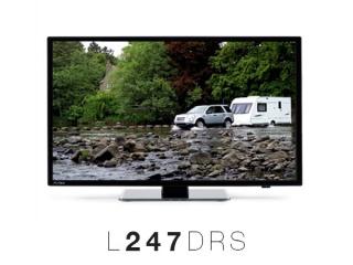 Avtex 248DRS 24 61cm Led TV DVB-T/DVB-S2/HD DVD rec met HDTV Satelliettuner