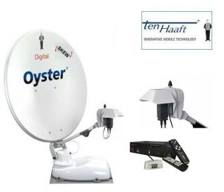 Oyster HDTV 85cm CI SKEW TWIN zelfzoekend