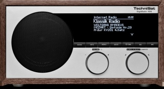 Technisat DigitRadio 400 Dab+ FM Internet + bluetooth + AB WOOD