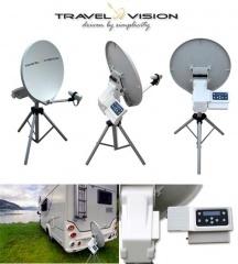 TravelVision R6-55cm zelfzoekende schotel