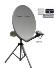 TravelVision R6-65CM DUO zelfzoekende schotel