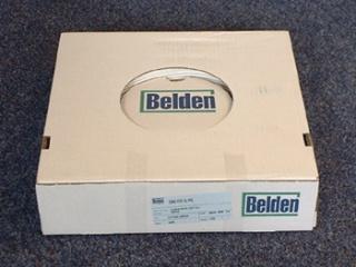 Belden H-121 satellietcoax wit dun